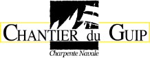 Chantier du Guip : charpente navale